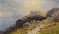 coastal landscape in crimea by mikhail alisov
