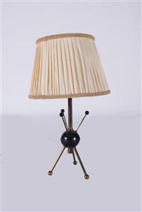 retro table lamp, model: spoutnick by boris jean lacroix