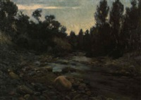 paisaje by juan baixas-garrate
