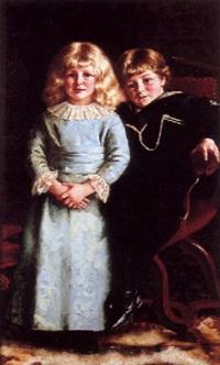 little angels by reginald machell