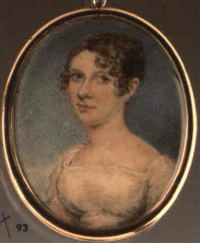 portrait of mary fleming by thomas arrowsmith