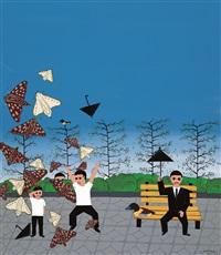 horror story - moth by xu maomao