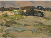 monterey dunes by franz arthur bischoff