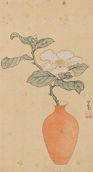 瓶花图 by pu ru