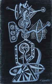 strojek - figura by frantisek gross