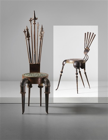 tribal chair by tom dixon