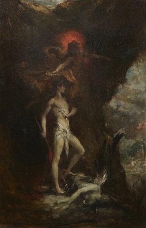 œdipe vainqueur du sphinx by henri léopold lévy