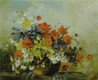 ein sommerblumenstrauß by flora g. udvardy
