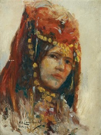 femme de biskra by william lambrecht