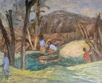 surrey landscape by henryk gotlib
