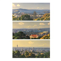 auckland harbour (set of 3) by simon williams