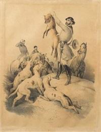 la prise du renard by victor-jean adam