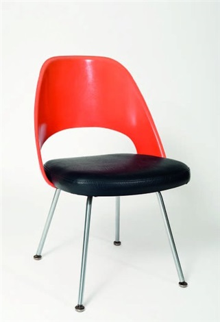 armchair model 71 upc by eero saarinen