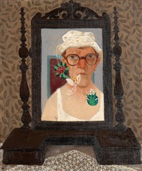 self portrait by pelle aberg