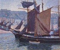 fishing boats by william chadwick
