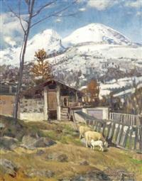 ovile sui monti by ottorino campagnari