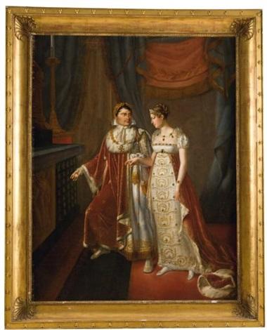 le mariage de lempereur napoléon ieret de limpératrice marie louise by auguste françois laby