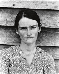allie mae burroughs, alabama tenant farmer wife by walker evans