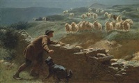 the sheepstealer by briton riviere
