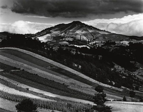 guatemala hills by brett weston