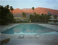 swimming pool, palm springs, california by robert polidori