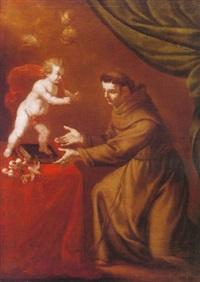 san antonio y el niño by vicente berdusan