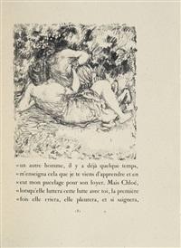 les pastorales de longus ou daphnis et chloé (bk w/156 works) by pierre bonnard