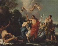 the baptism of christ by luigi garzi