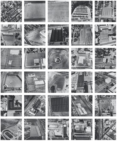 parking lots set of 30 by ed ruscha