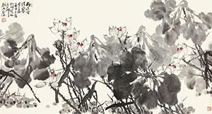 荷花 by cui ruzhuo