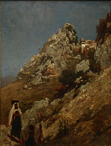 cervara by lord frederick leighton