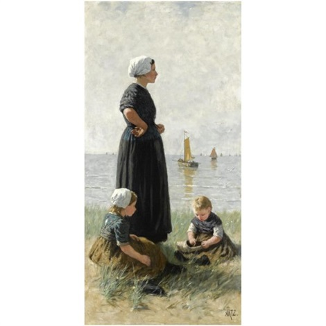 watching the ships return by david adolf constant artz
