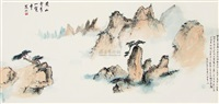 黄山奇峰 by xue huishan