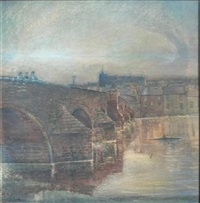 devorgilla bridge, dumfries by john galloway reid