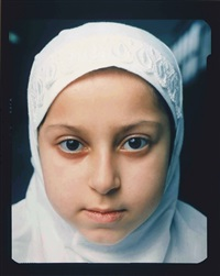 muazez, amsterdam, from muslim girls by céline van balen