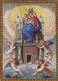 our lady of loretto by flaminio allegrini
