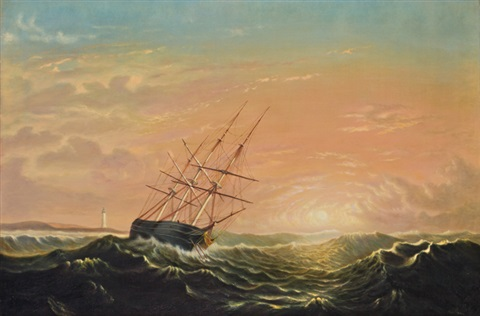 ship at sea by mary blood mellen