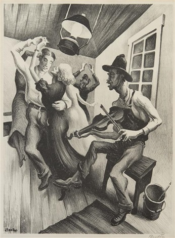 i got a gal on sourwood mountain by thomas hart benton
