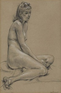 female nude by paul cadmus