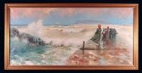 kobiety nad brzegiem morza by eremino kremp