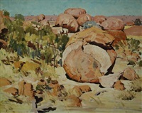 the devils marbles by maxwell richard christopher ragless