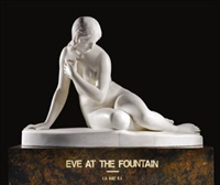 eve at the fountain by edward hodges baily