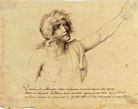 a young man gesturing to the right by domingos antonio de sequeira