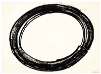 double ring ii by richard serra
