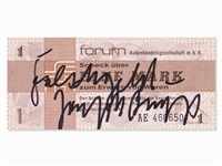 falschgeld by joseph beuys