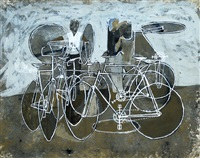 untitled - bicycle repairs by william kempster