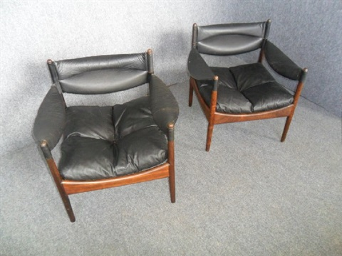 modus armchairs (pair) by kristian solmer vedel
