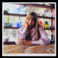 joni mitchell, los angeles (laurel canyon) by baron wolman