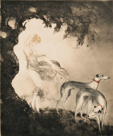 coup de vent by louis icart