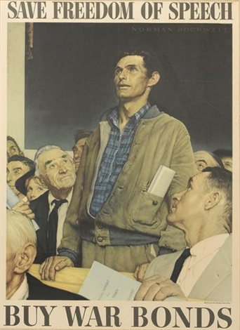 the four freedoms 4 works by norman rockwell